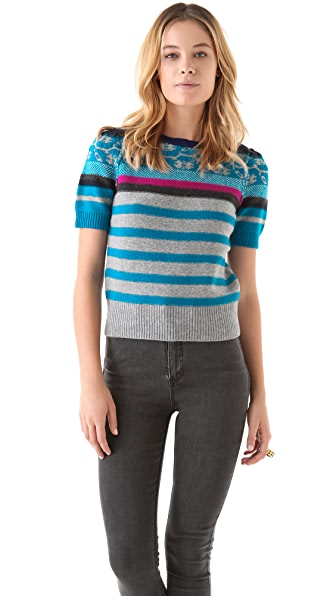 Sonia by Sonia Rykiel Fair Isle Sweater