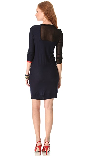 Sonia by Sonia Rykiel Colorblock Sweater Dress