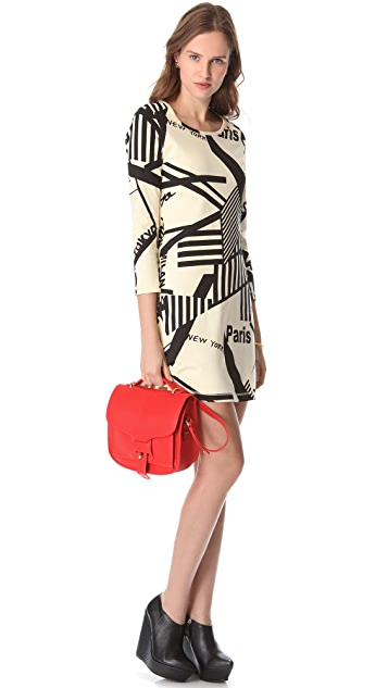 Sonia by Sonia Rykiel Graphic Dress