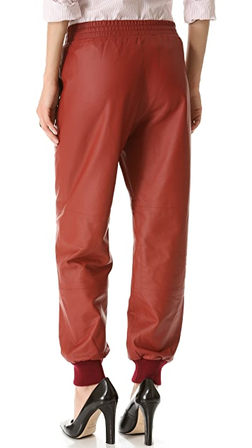 Sonia by Sonia Rykiel Leather Pants