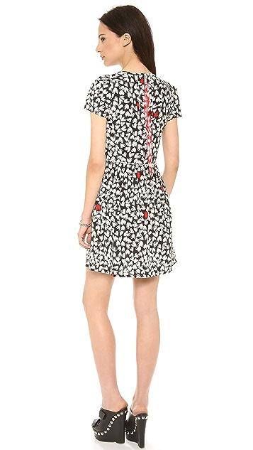Sonia by Sonia Rykiel Printed Heart Dress