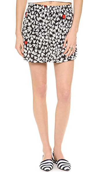 Sonia by Sonia Rykiel Printed Heart Shorts