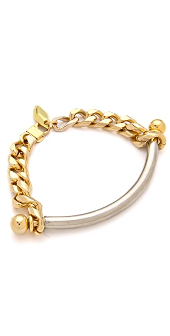 Soo Ihn Kim Kim Tube Chain Bracelet