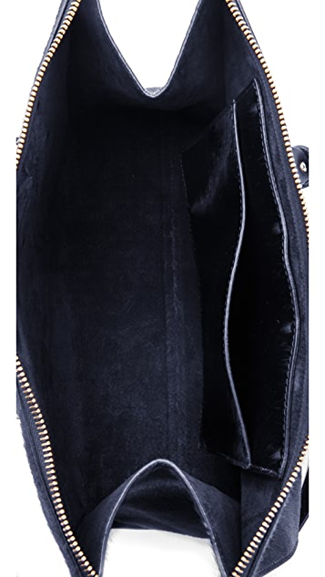 Sophie Hulme Zip Top Bowling Bag