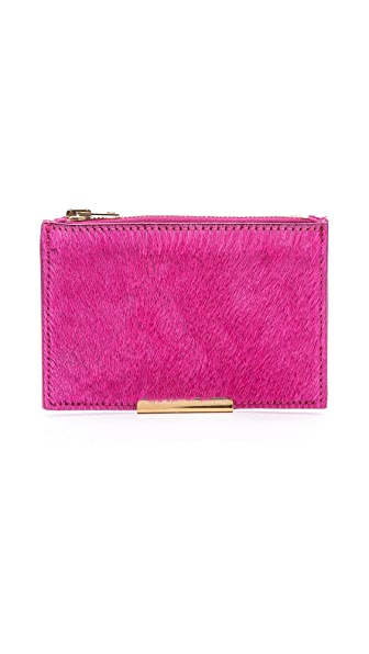 Sophie Hulme Small Haircalf Pouch Wallet
