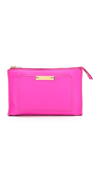 Sophie Hulme Patch Pocket Makeup Bag