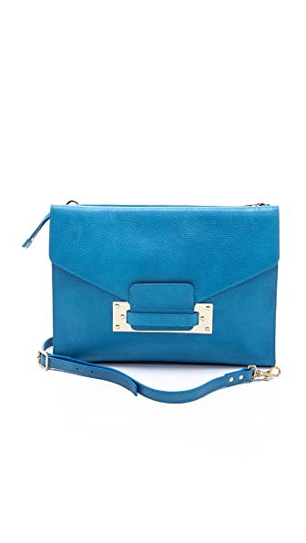 Sophie Hulme Soft Envelope Clutch