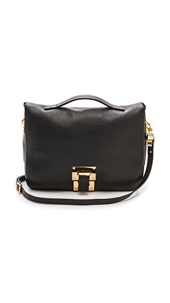 Sophie Hulme Soft Flap Bag