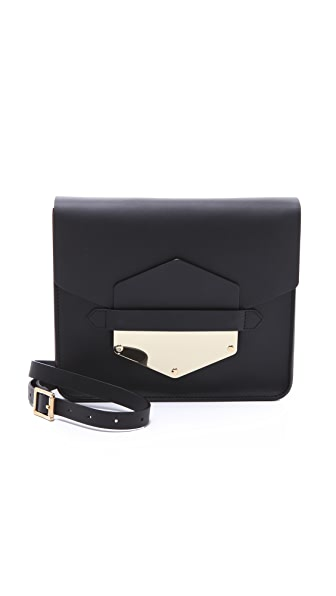 Sophie Hulme Arrow Tab Clutch