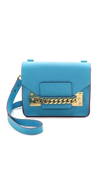 Sophie Hulme Chain Mini Envelope Bag