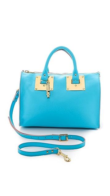 Sophie Hulme Mini Zip Top Bowling Bag