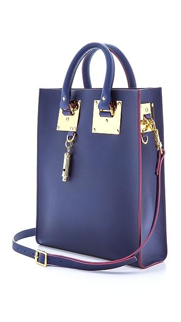 Sophie Hulme Небольшая объемная сумка с короткими ручками