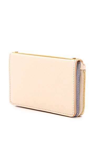 Sophie Hulme Medium Spine Wallet