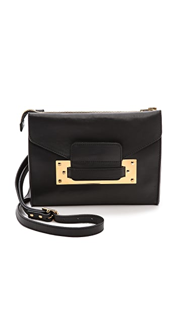 Sophie Hulme Mini Soft Envelope Clutch