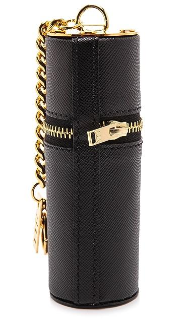 Sophie Hulme Tube Pouch Bag Charm