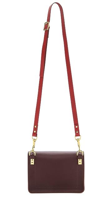Sophie Hulme Color Blocked Mini Envelope Bag