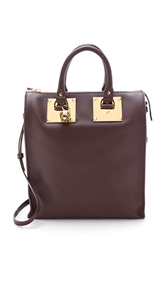 Sophie Hulme North South Zip Tote