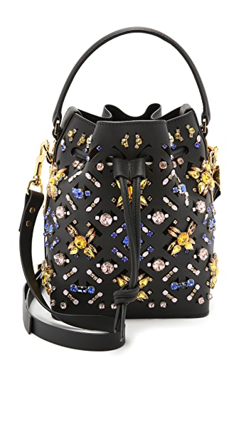 Sophie Hulme Embellished Bucket Bag