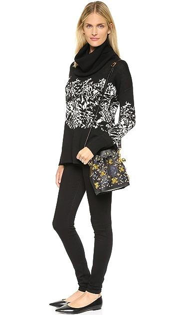 Sophie Hulme Embellished Bucket Bag