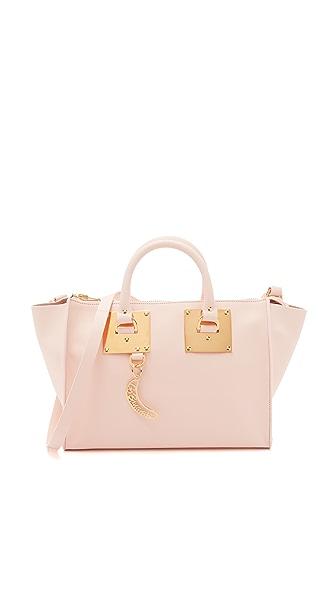 Sophie Hulme Bowling Bag - Blossom Pink