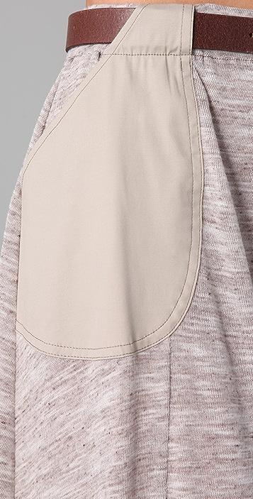 Sophomore Belted Skirt