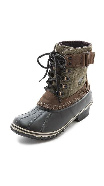 Sorel Winter Fancy Lace Up Boots