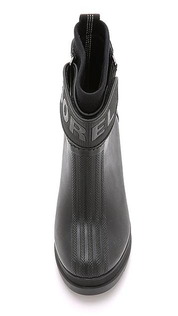 Sorel Medina III Rubber Heel Booties