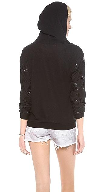 SoulCycle Hacci Sweatshirt with Skulls