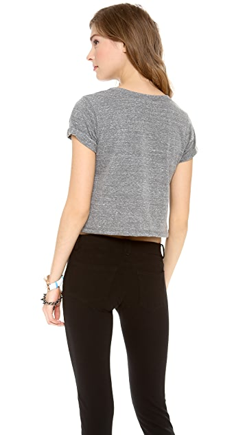 SoulCycle I Love Soul Cropped Tee