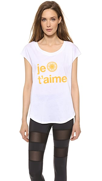 SoulCycle Je t'Aime Tee