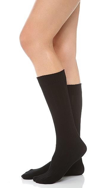 SPANX Well Heeled! Ribbed Sweater Knee Socks