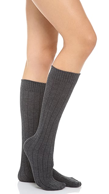 SPANX Well Heeled! Ribbed Sweater Knee Socks