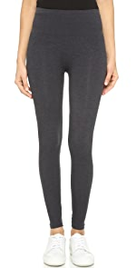 Heathered Seamless Leggings                SPANX