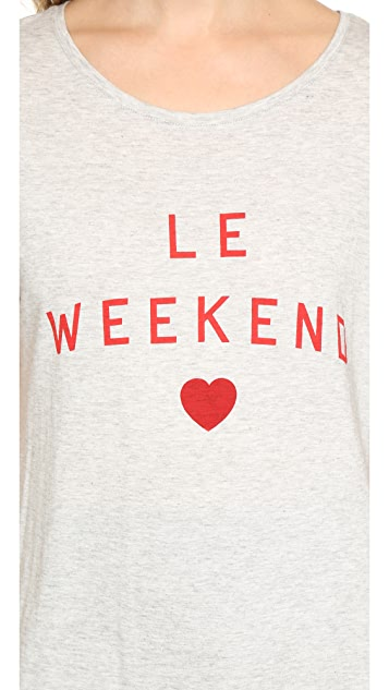 South Parade Le Weekend Tee