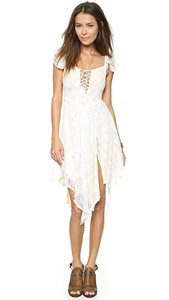 SPELL Glastonbury Lace Dress
