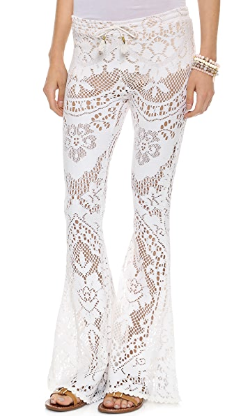 SPELL White Doce Vintage Lace Bottoms