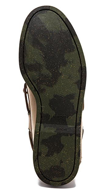 Sperry Camo Sole Boat Shoes