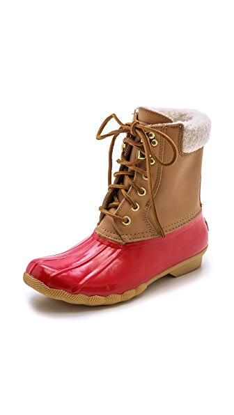 Sperry Shearwater Lined Duck Booties