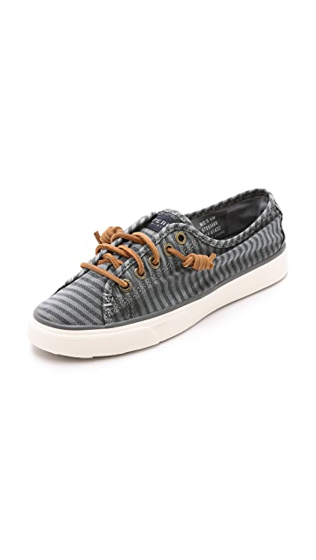 Sperry Seacoast Striped Sneakers