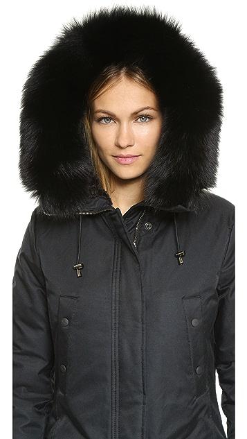 Spiewak N3 B Fox Fur Trim Parka