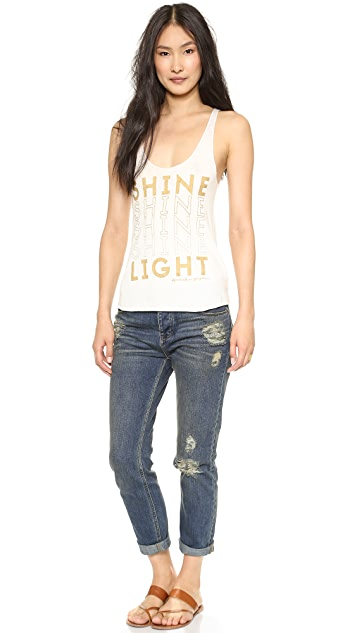 Spiritual Gangster Shine Light Tank