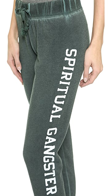 Spiritual Gangster Cropped Track Pants