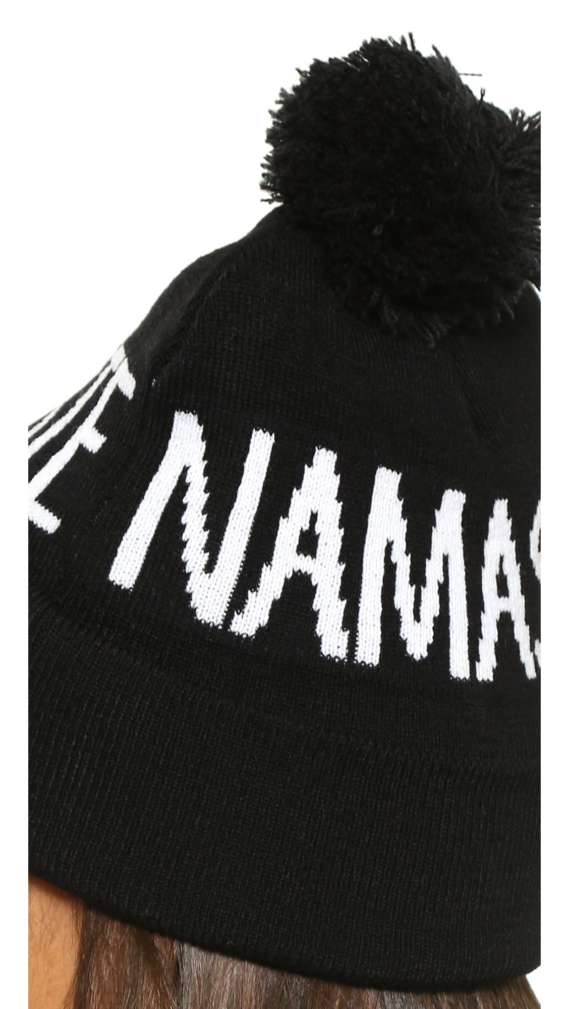 ae8c1e17aa6 Spiritual Gangster Namaste Pom Beanie