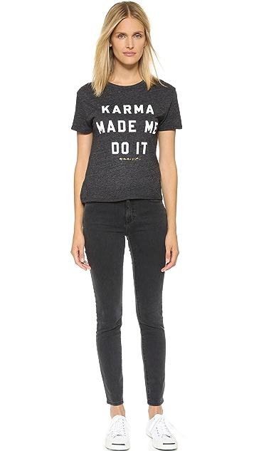 Spiritual Gangster Karma Made Me Do It Tee