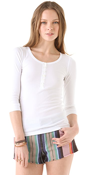 Splendid 1x1 Henley Top