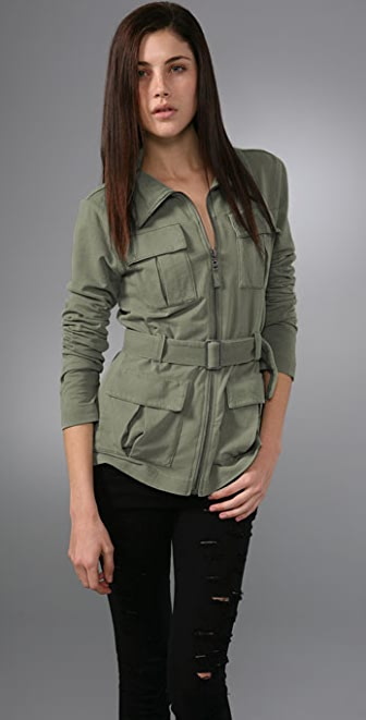 Splendid Vintage Fleece Pocket Jacket