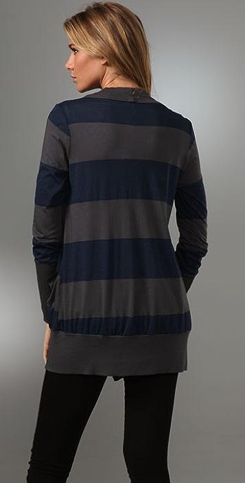 Splendid Rugby Stripe Cardi
