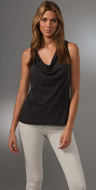 Splendid Vintage Whisper Race Back Tank
