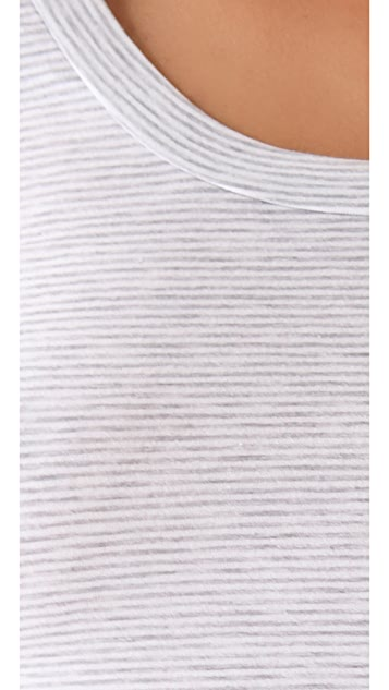Splendid Striped Layering Tee