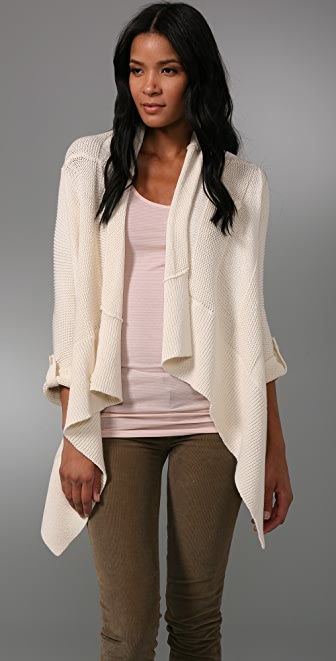 Splendid Chunky Double Stitch Cardigan